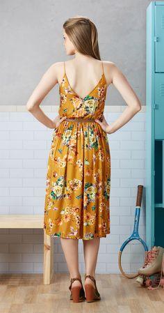 Só na Antix Store você encontra Vestido Midi Garden com exclusividade na internet