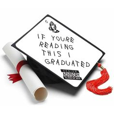 If Youre Reading This Grad Cap Tassel Topper