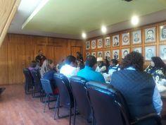 Reunión de Coordinadores Regionales con el líder de la Liga de Comunidades Agrarias