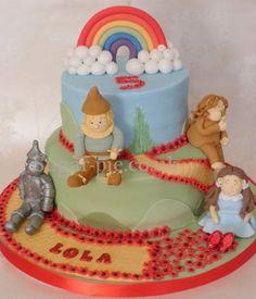 Wizard of Oz cake - by sugarpie @ CakesDecor.com - cake decorating website