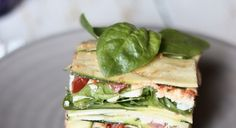 Lasagne crudiste - lacucinavegetariana.it