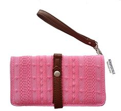 55d942f4c New with Tag Aeropostale Embroidered Wristlet Wallet Clutch