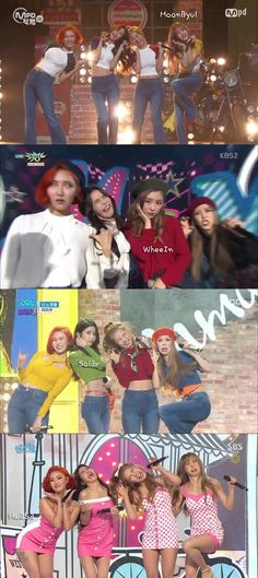 Mamamoo 'Give The Whole Beauty To A Friend' Play #외모몰아주기