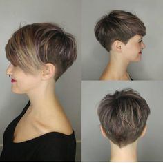 10 stylish pixie haircuts undercut hairstyles women short hair for summer hairstyles models Undercut Bob hair Haircuts hairstyles models Pixie Short Stylish summer Undercut WOMEN Undercut Hairstyles Women, Short Hair Undercut, Short Pixie Haircuts, Short Hairstyles For Women, Hairstyles Haircuts, Summer Hairstyles, Short Hair Cuts, Undercut Women, Trendy Haircuts
