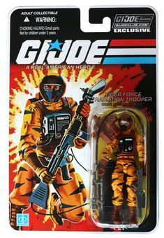 GI Joe Figure Subscription Service Carded Tiger Force Airtight  Image 1