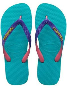 92e5a1664 Havaianas Lake Green Top Mix Womens Flip Flop