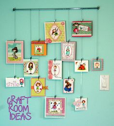 Craft Room Idea by littlepigtails, via Flickr