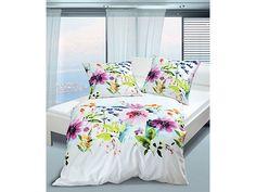 Jetzt Bettwäsche, Janine, »Modern Flower«, mit Blütenmotiven günstig im schlafwelt Online Shop bestellen