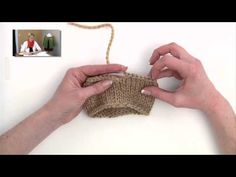 Eliminating the jog at the end of a circular knitting cast off...good video.
