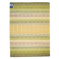 Finarte Origami -puuvillamatto on helppohoitoinen ja napakka matto kotiin tai mökille! Desgin: Mervi Pesonen. Tilaa vihreäsävyinen matto Hobby Hallista!