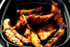 Spareribs aus dem Airfryer - zimtkringel - about food - Food: Veggie tables Healthy Eating Tips, Healthy Nutrition, Fruits And Vegetables, Veggies, Spareribs, Actifry, Vegetable Drinks, Air Fryer Recipes, Chicken Wings