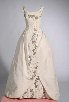 Ms. Heather Morgan wore this ball gown at the Passavant Cotillion and  Christmas Ball on December 23, 1961.