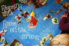 Marc's Treasure Basket: Rhyming with Room On The Broom