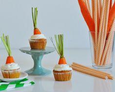 REB´S KITCHEN: mrkvové cupcakes s pomarančovým cream cheese krémom