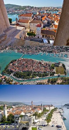 Trogir, Croatia - recommended by a guy I work with who was based in Split for 3 months. 40 mins from Split on route to/from Krga Best Countries In Europe, Places In Europe, Places Around The World, Around The Worlds, Visit Croatia, Croatia Travel, Trogir Croatia, Travel Activities, Albania