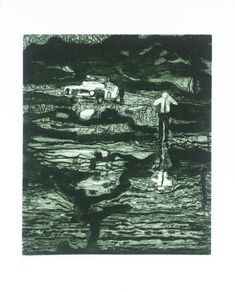 Peter Doig (born 1959) Echo Lake 2000 Etching and aquatint on paper: 260 x 210 mm