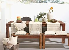 Pichler tablecloth, sets, cushions