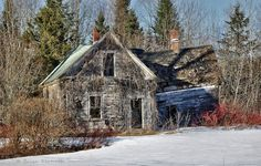 Abandoned house, New Sweden, Aroostook County, Maine | Flickr - Photo Sharing!