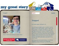 Check out the January 2013 My Great Story of the Month Contest winner Trapped by Linden Rigler, Kalispell, MT. Share your story at ndss.org/stories!