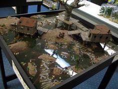 CUT INTO THE EARTH: Malifaux: Bayou Table