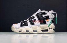 28eeb1e7e0 Custom Off-White x Nike Air More Uptempo White Black - Off-White x Nike -  Nike