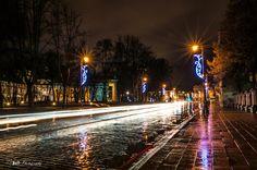 Фотография мокрым улицам автор Игнас Бульдоги на 500px