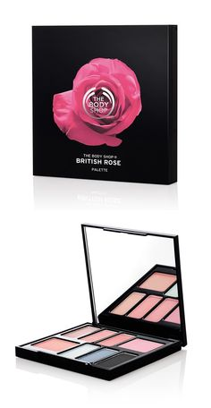 The Body Shop British Rose Palette for Spring 2016