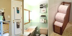 Cheap and easy bathroom storage solutions to help you keep your bathroom away from the clutter.