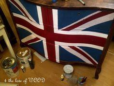 JACKS BACK - flag dresser