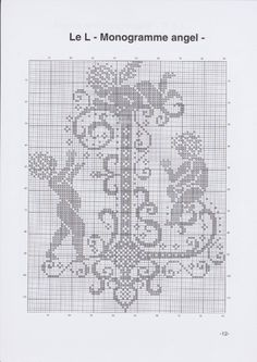 Gallery.ru / Фото #15 - JD327 - Monogrammes Angels - lyulnar