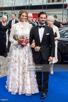 Princess Madeleine and Prince Carl Phillip of Sweden attend an award ceremony for the Polar Music Prize at Konserthuset on June 15, 2017 in Stockholm, Sweden. (Photo by Michael Campanella/Getty Images)