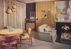 sweet 1950s Room by Mad Modern, via Flickr                                                                                                            sweet 1950s Room             by        Mad Modern      on        Flickr
