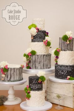Romantic wedding cakes by Ceca79 - http://cakesdecor.com/cakes/291648-romantic-wedding-cakes