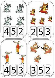 Letter Worksheets For Preschool, 1st Grade Math Worksheets, Numbers Preschool, Learning Numbers, Kindergarten Math, Math Activities, Preschool Activities, Math For Kids, Fun Math