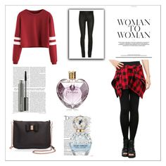 """""""Untitled #1"""" by adela99-1 ❤ liked on Polyvore featuring ElleSD, Vera Wang, Ted Baker, Balmain, Marc Jacobs and MAC Cosmetics"""
