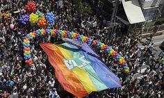 Gay Pride March in Tel Aviv,