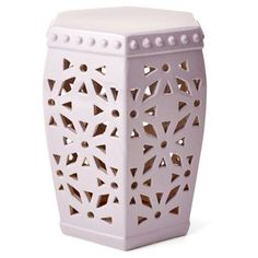 Check out this item at One Kings Lane! Walker Garden Stool, Lilac