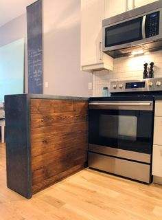 Renovation Inspiration: Do It Yourself Concrete Kitchen Countertops | Apartment Therapy