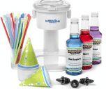S700 Snow Cone Machine, 25 Snow Cone Cups, 25 Spoon Straws