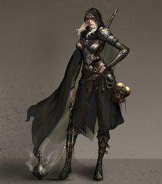 ArtStation - Demon Hunter, liu pengcheng