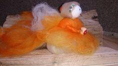 Tangerine Dream Faerie by RosePetalFaeries on Etsy