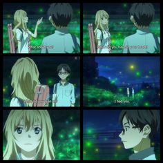 Your Lie in April end of Ep 11