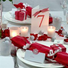 matrimonio invernale -decorazione tavola