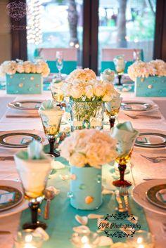 Tiffany wedding in Dubai by ElegantMoment Wedding&Event Planner