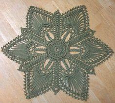 Crochet accessoires - Page 4 Crochet Motifs, Thread Crochet, Free Crochet, Doily Patterns, Knitting Patterns, Crochet Patterns, Doilies, Crochet Dollies, Flower Tutorial