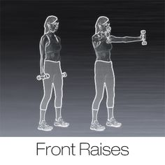 Front Raises: 1 of the top 5 deltoid exercises