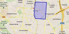 <<en el Viso>>. El Viso es un barrio muy rico de Madrid. El Viso es donde vive Zabaleta. Capitulo 13, pagina 23