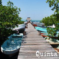 Descubre hermosos lugares en la Riviera Maya, México.
