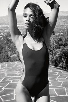 Zoe Zoe Saldana Movies Celebs Celebrities Gq Magazine Aaliyah Girl Crushes