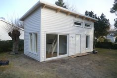House With Porch, House Made, Prefab, Tiny House, Building A House, Architecture Design, New Homes, Sweet Home, Shed